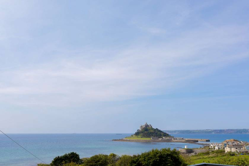 View from the doorstep, of St Michael�s Mount